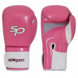 Starpro Aero Tech Fitness Boxing Glove Roze Wit