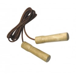 Leather jump rope bearings