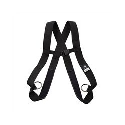 Power build harness without ripcord